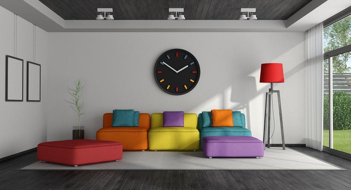 kolorowy sufit